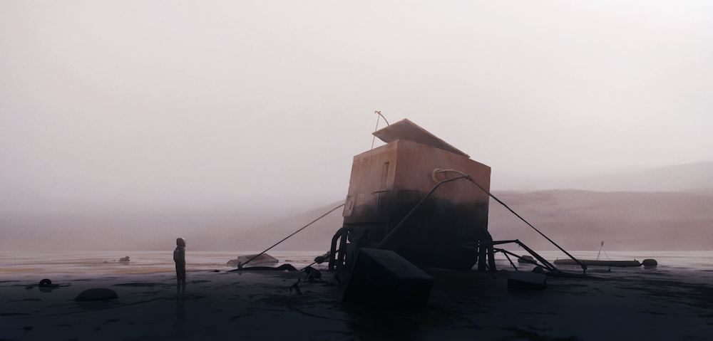 Water Scrap.Art from the upcoming title currently in development at Playdead