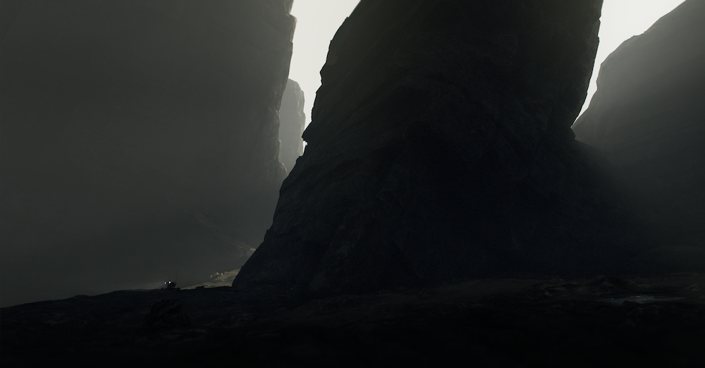 Bog Rock. Art from the upcoming title currently in development at Playdead
